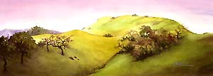 Landscapes - watercolor art -giclee prints